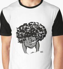 Annoyed Little Girl Graphic T-Shirt