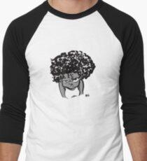 Annoyed Little Girl Men's Baseball ¾ T-Shirt