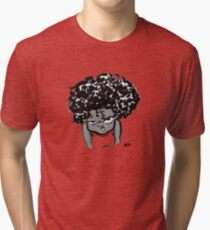 Annoyed Little Girl Tri-blend T-Shirt