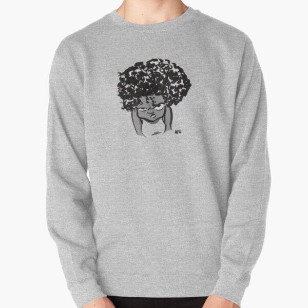 Annoyed Little Girl Pullover Sweatshirt