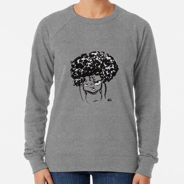 Annoyed Little Girl Lightweight Sweatshirt