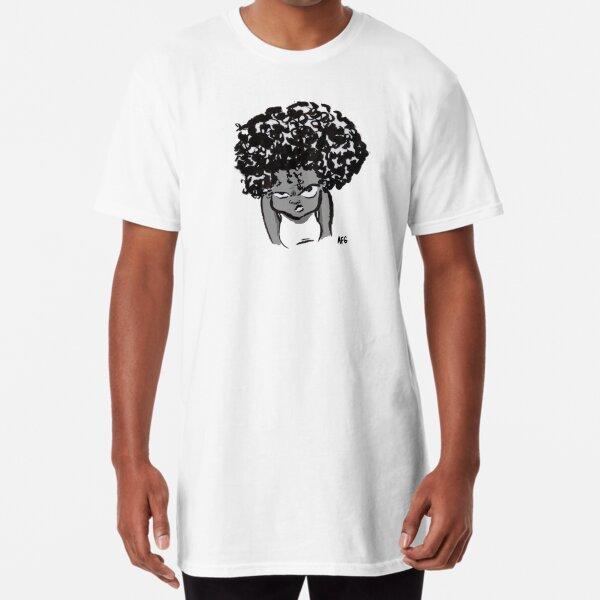 Annoyed Little Girl Long T-Shirt