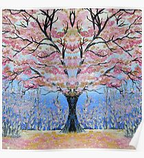 Cherry Blossom Tree of Life  Poster