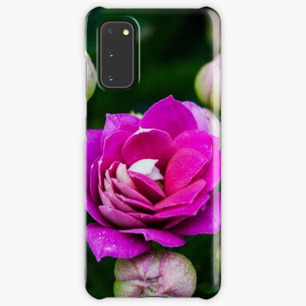 Bright Pink Flowers Samsung Galaxy Snap Case