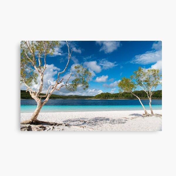 Lake McKenzie, Fraser Island Canvas Print