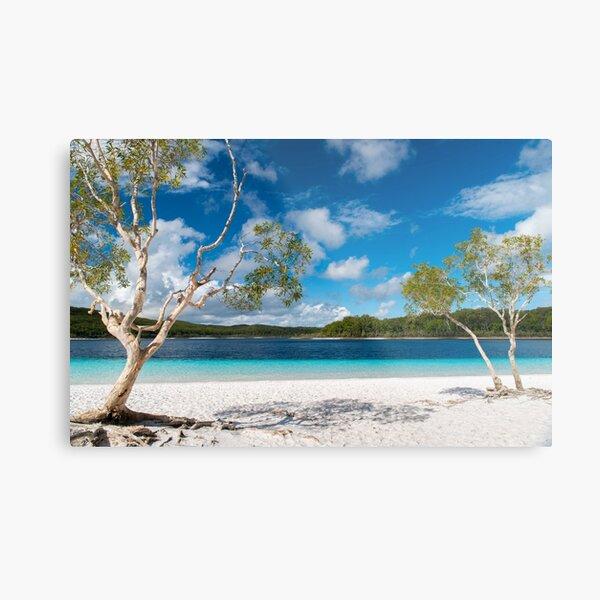 Lake McKenzie, Fraser Island Metal Print
