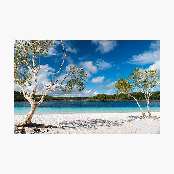 Lake McKenzie, Fraser Island Photographic Print