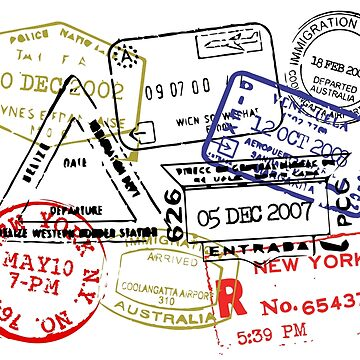 Passport Stamps by grupoimagine