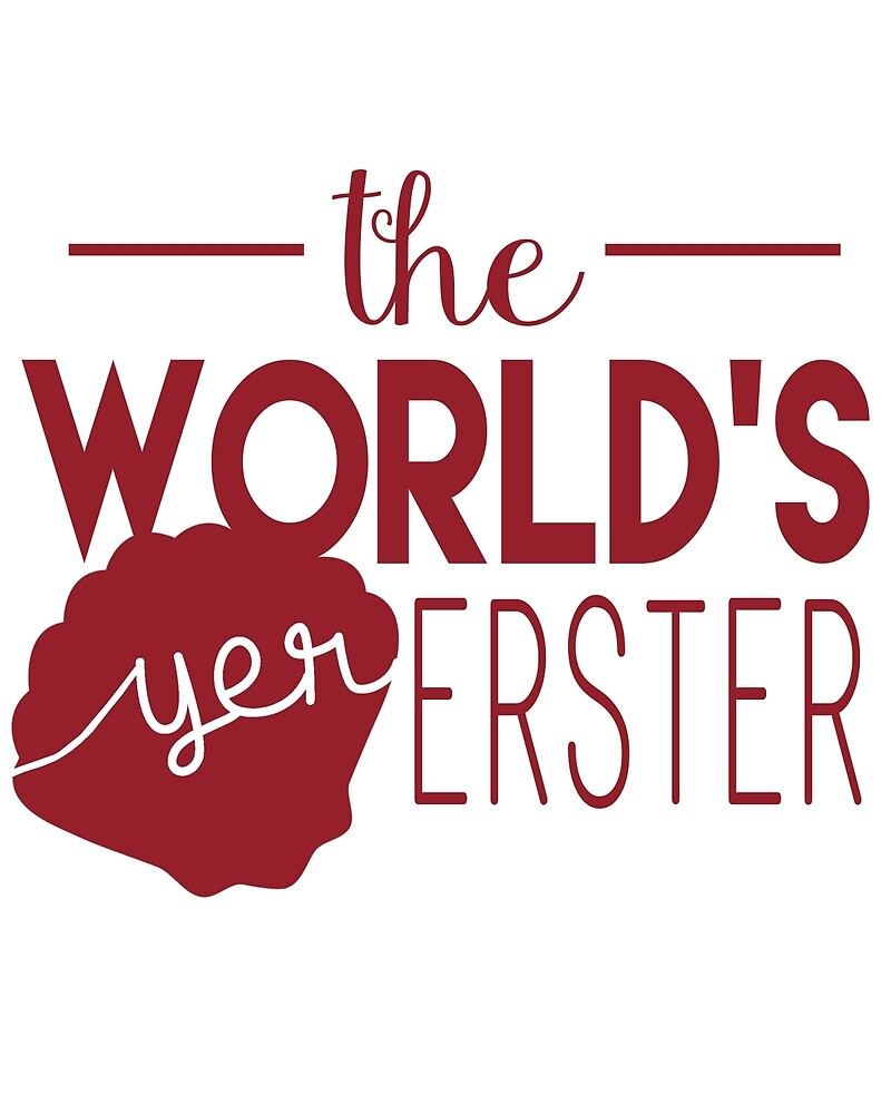 World's Yer Erster in Red by worldsyererster