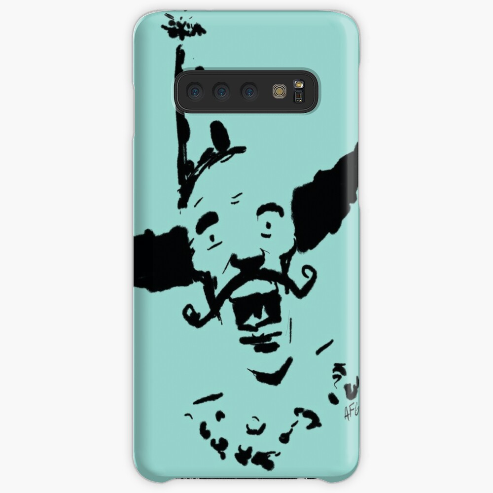 Curly Mustache Clown Case & Skin for Samsung Galaxy
