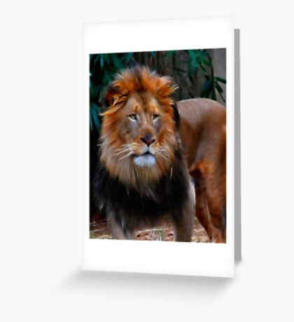 Fractalius King Greeting Card