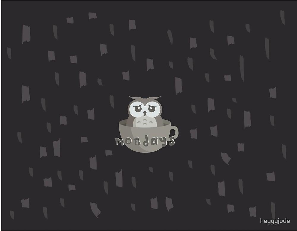 mondays [dark theme] by heyyyjude