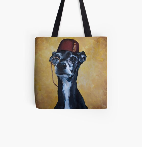 Nuk - International Dog of Mystery All Over Print Tote Bag