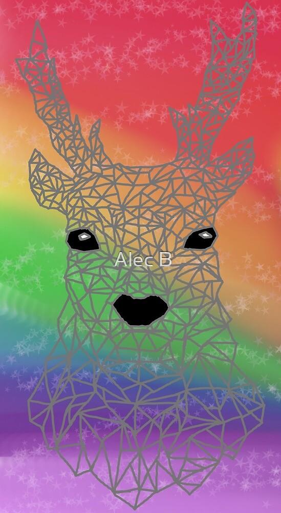 Multi-Colour Reindeer by TheGreatAlsbee