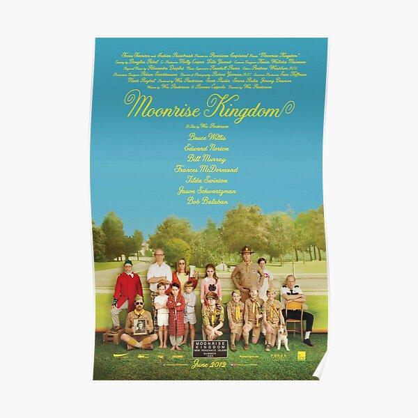 Moonrise Kingdom Movie Poster Poster