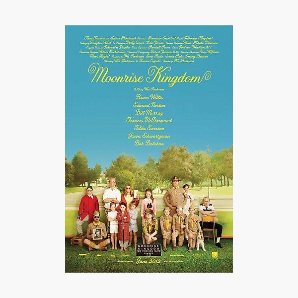Cartel de la película Moonrise Kingdom Lámina fotográfica
