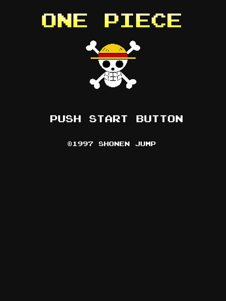 One Piece, 8-bit by HikoDesigns
