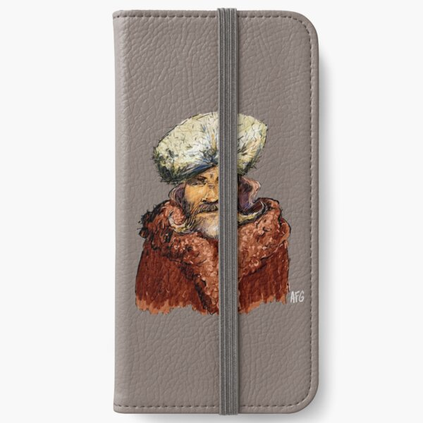 Mountain Man iPhone Wallet