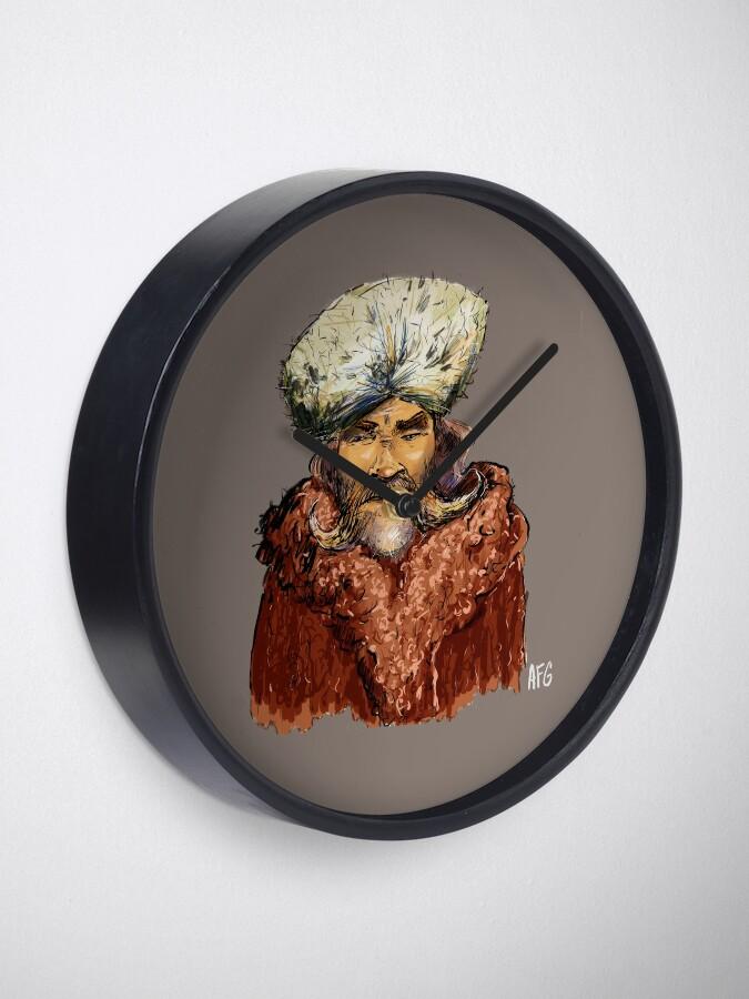 Alternate view of Mountain Man Clock