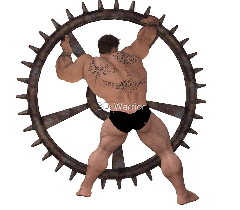 Muscle Gear - back by 3D-Warrior