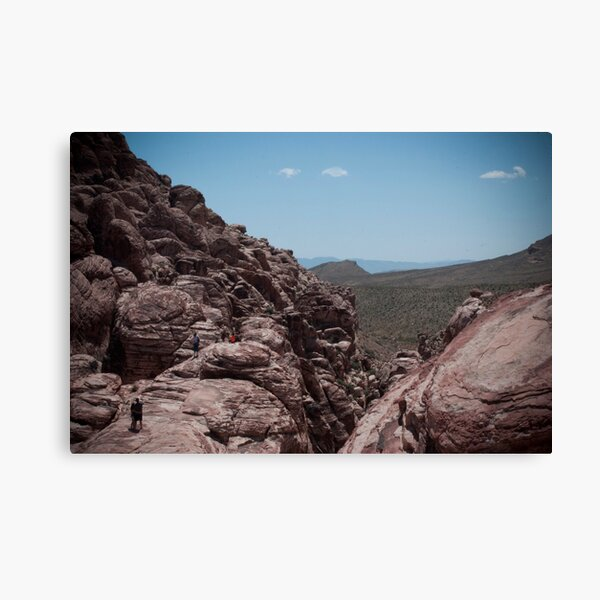 Red Rock Canyon Visitors Canvas Print
