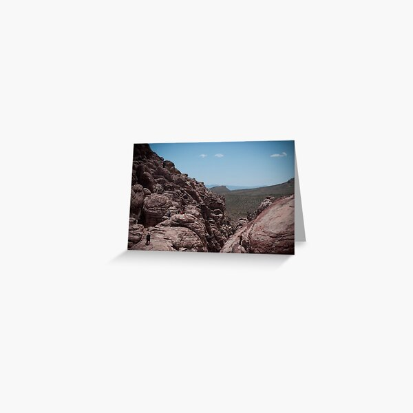 Red Rock Canyon Visitors Greeting Card
