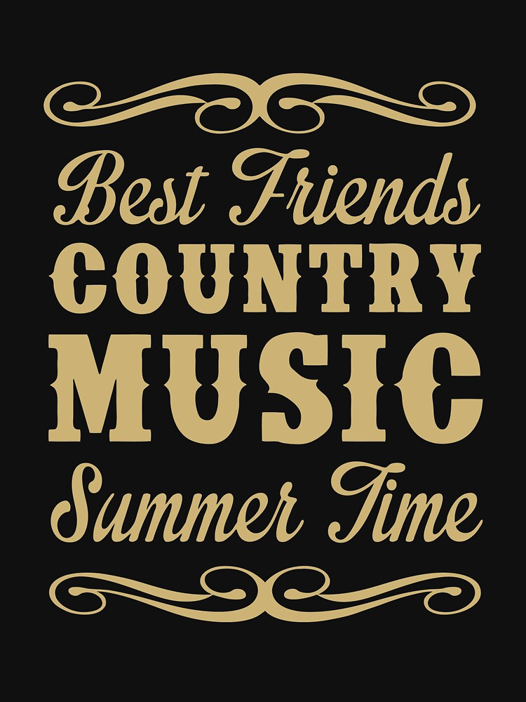 NEW PRODUCT BK288 Country Music Summer Best Trending by TioPionee