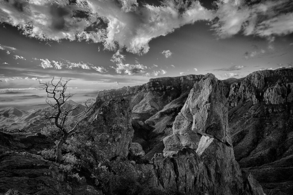 Juniper Canyon from Lost Mine Trail by GeorgeBuxbaum