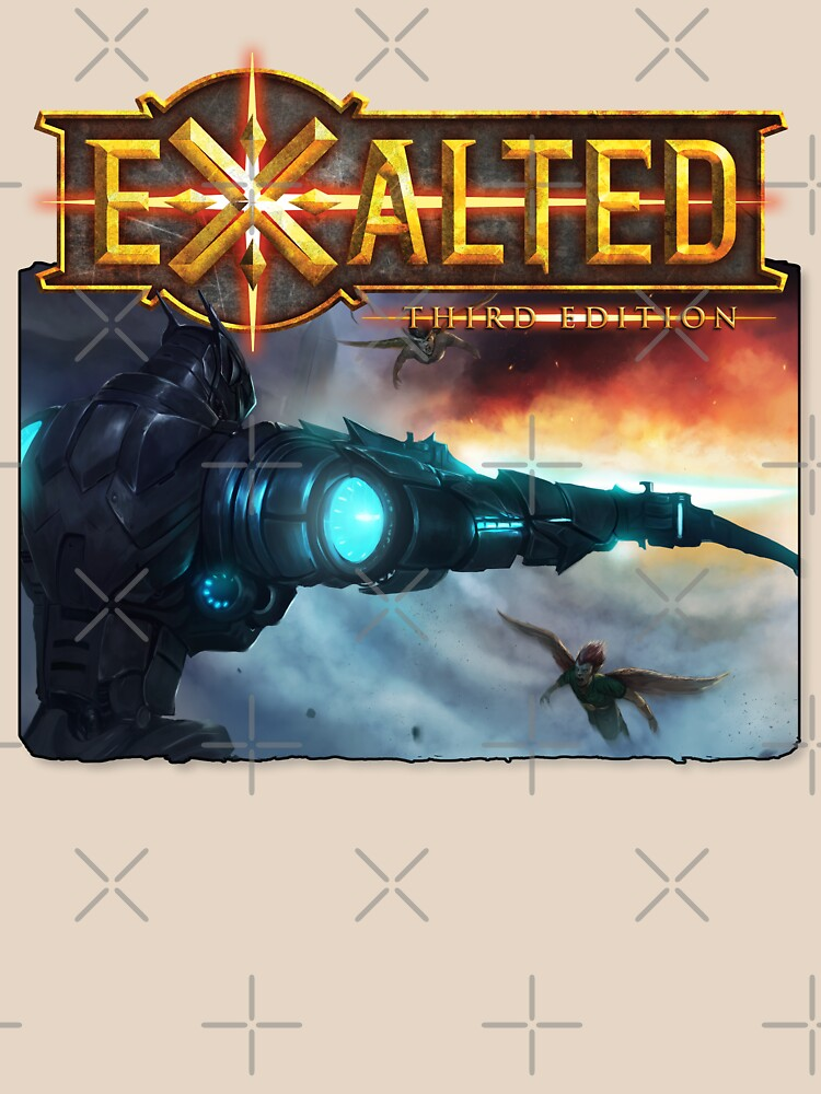 Exalted Art: Warstrider 2 by TheOnyxPath