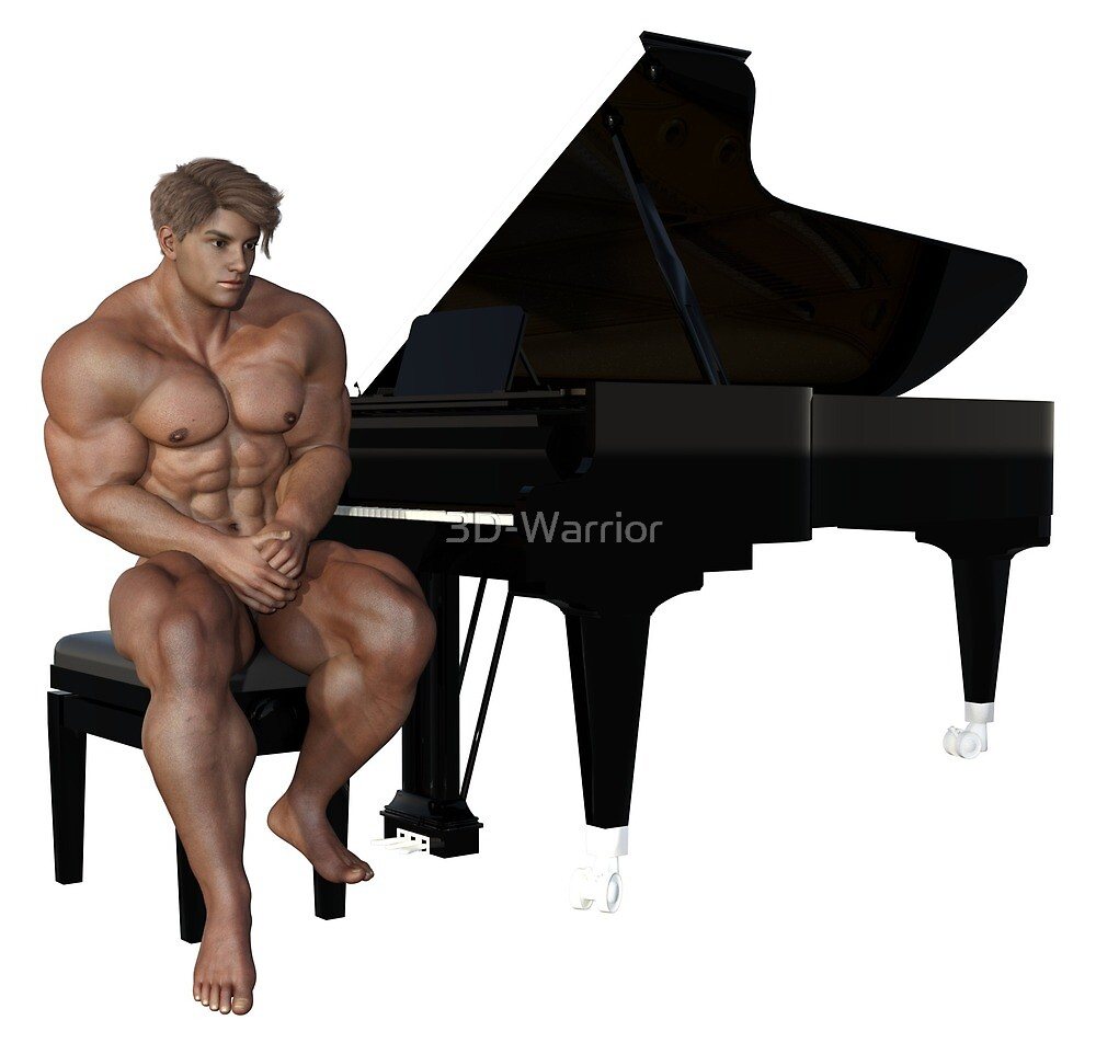 Piano Player (2) by 3D-Warrior
