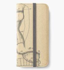 1909 Patent Corset iPhone Wallet/Case/Skin