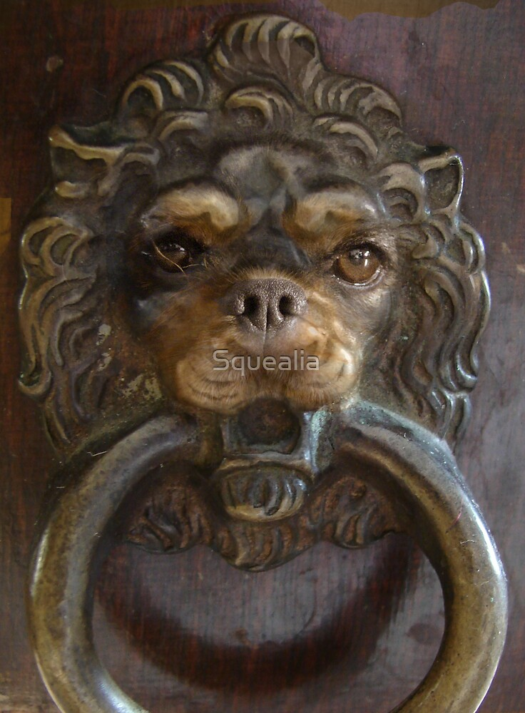 BEWARE  GUARD DOG! by Squealia