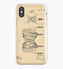 1902 Patent Corset iPhone Case