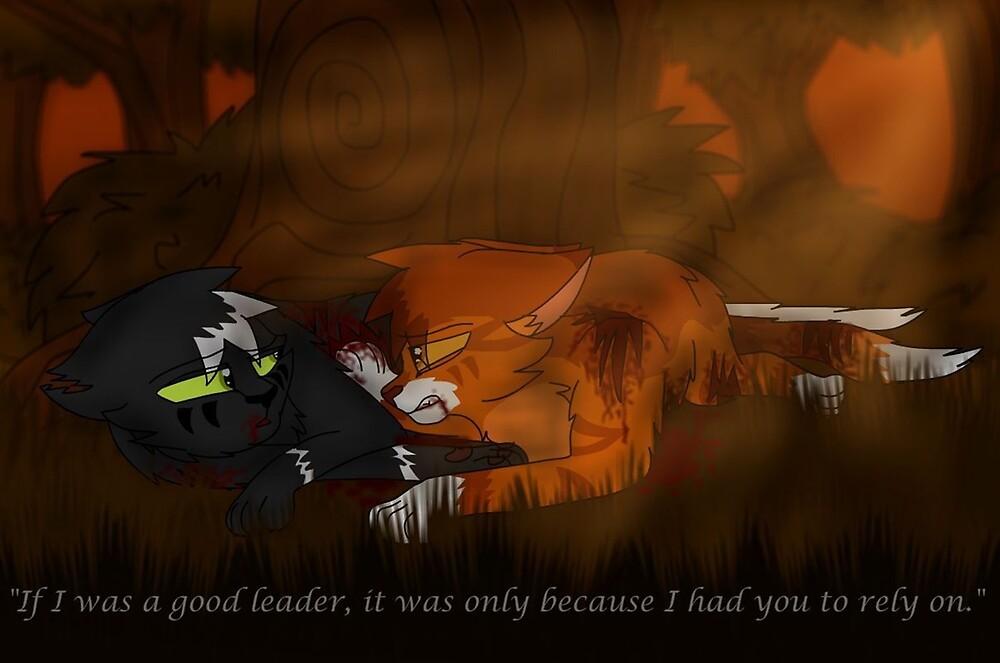 Lightning Tail and Thunderstar by Dawnmist