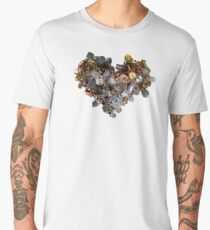 Heart (Locks) Men's Premium T-Shirt