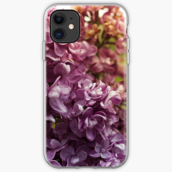 Lilac Bush iPhone Soft Case