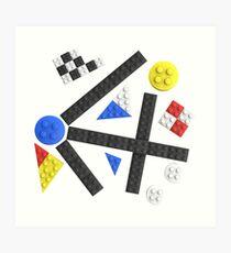 Kandinsky Toy Bricks Art Print