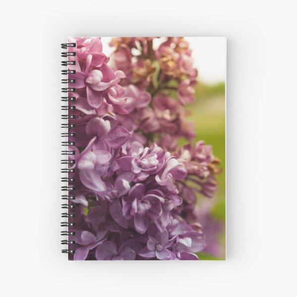 Lilac Bush Spiral Notebook