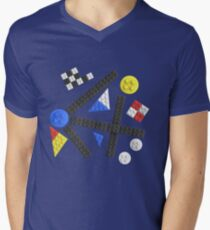 Kandinsky Toy Bricks Men's V-Neck T-Shirt