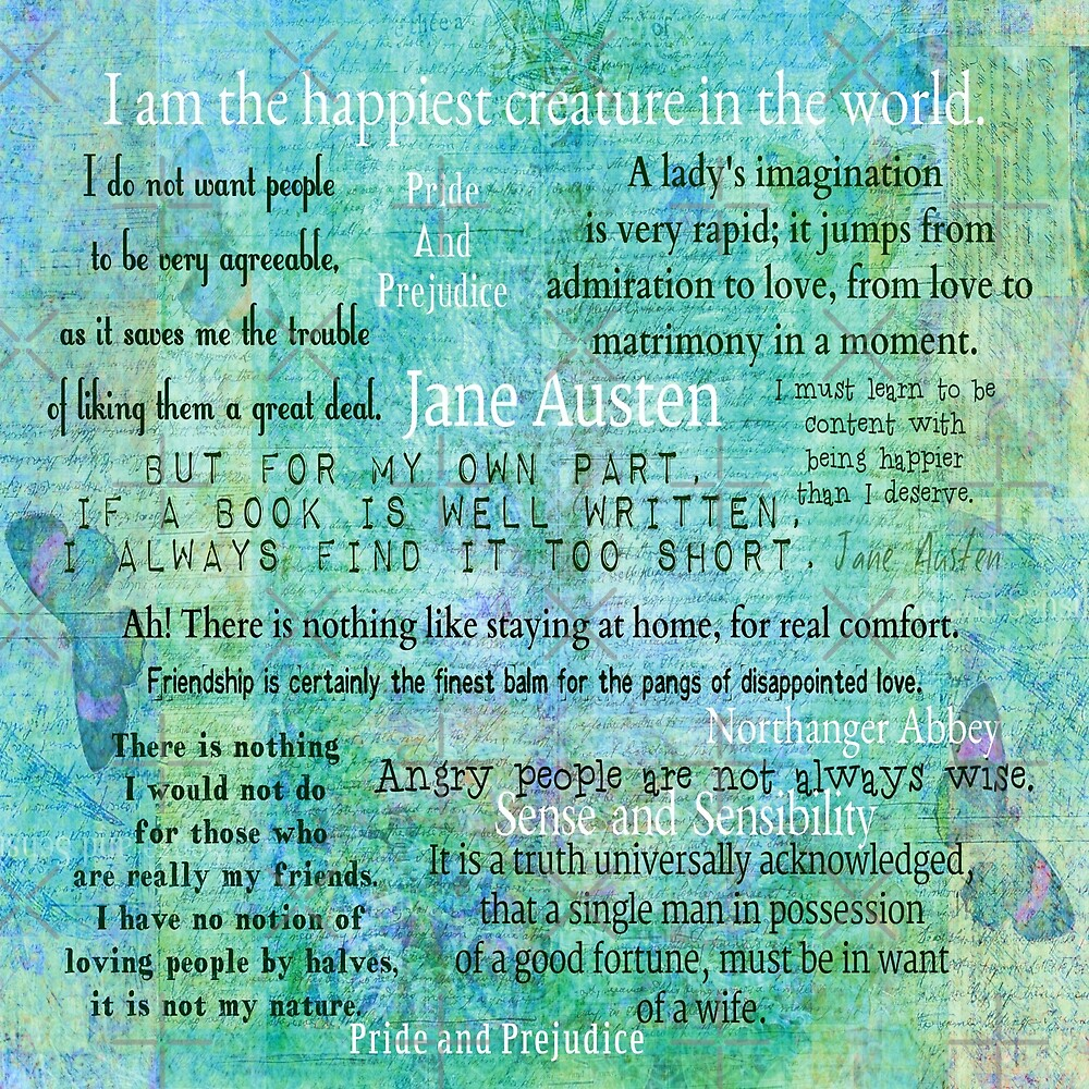 Jane Austen quotes collection by goldenslipper