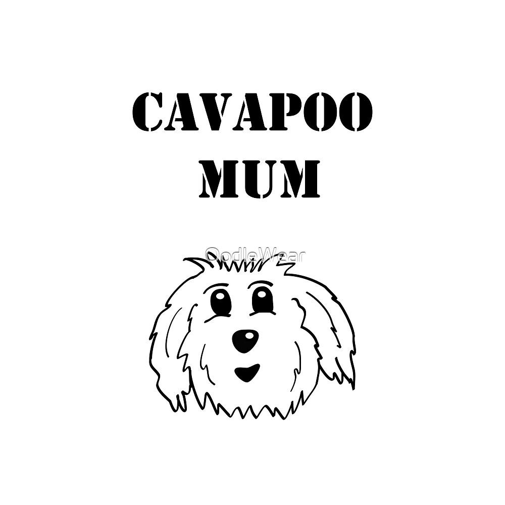 Cavapoo Mum by OodleWear