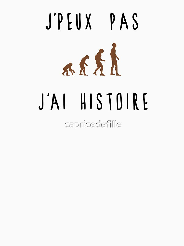 I can not have history by capricedefille