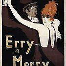 Vintage Art Deco Theater Dancers by mindydidit