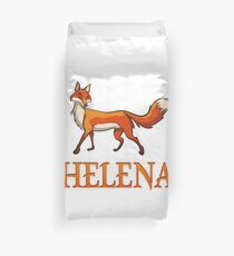 Helena Fox Duvet Cover