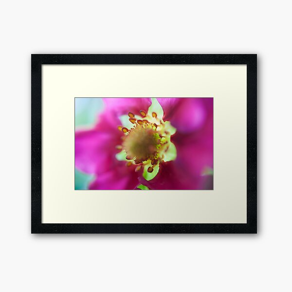 Strawberry Flower Framed Art Print