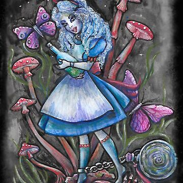Crazy Alice  by melaniedann