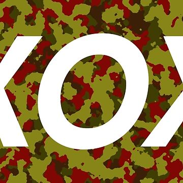 XOX Green and Red Camo by woothdarcie