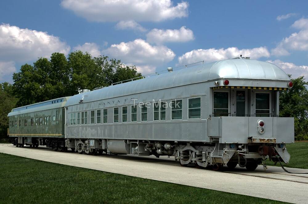 Private Owned Santa Fe Rail Road Pullman Car by TeeMack