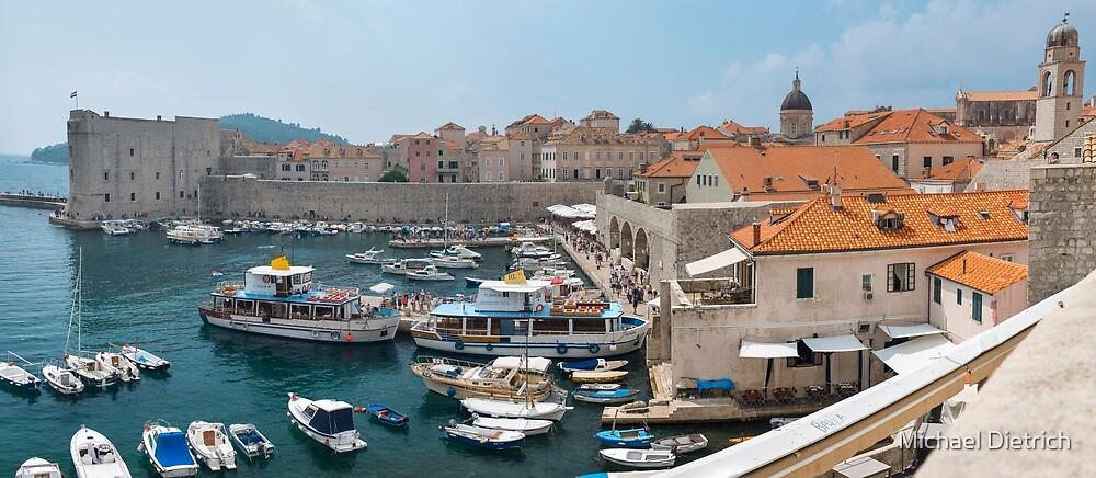 Dubrovnik Port, Croatia by Michael Dietrich