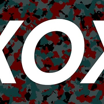 XOX Red and Blue camo by woothdarcie